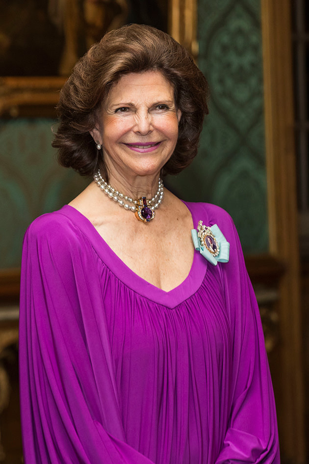 Drottning Silvia, kungen, kronprinsessan Victoria, prins Carl Philip, Prins Daniel