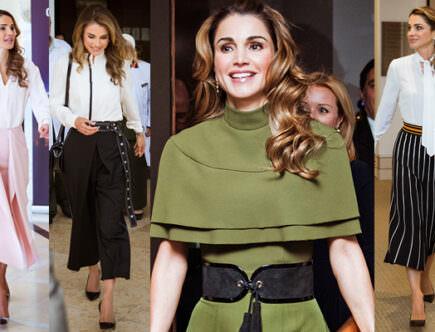 Drottning Rania, Queen Rania, Queen of Fashion