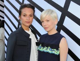 Alicia Vikander och Michelle Williams