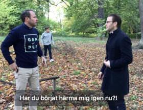 Prins Daniel och David Hellenius