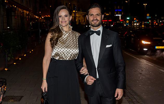 Prinsessan Sofia och prins Carl Philip