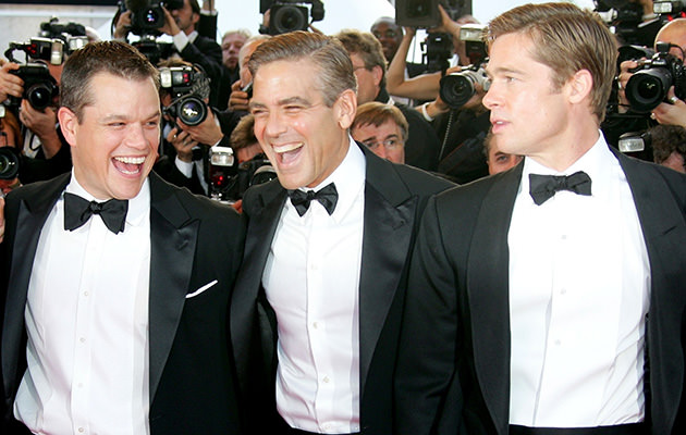 Matt Damon, George Clooney, Brad Pitt