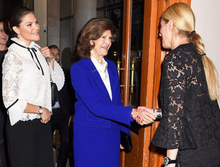 H.K.H. Kronprinsessan Victoria, H.M. Drottning Silvia, Stephanie Bonn