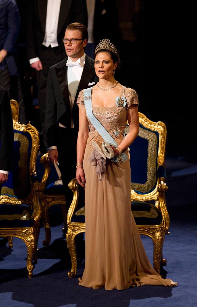 Nobel kronprinsessan Victoria