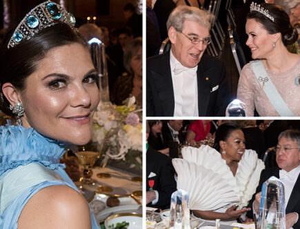 Kronprinsessan Victoria, prinsessan Sofia, Alice Bah Kuhnke, Nobel, Nobelfesten
