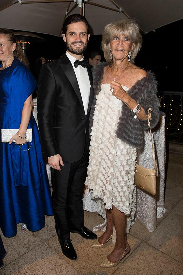 Prins Carl Philip och prinsessan Birgitta