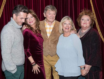 Peter Jöback, Regina Lund, Bosse Parnevik, Ann-Louise Hanson och Marianne Mörck
