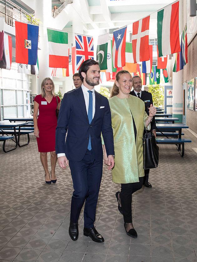 Prins Carl Philip i Hongkong