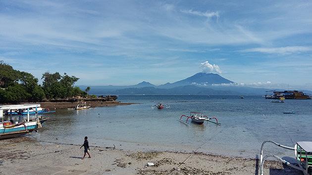 Bali vulkan