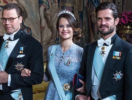 Prins Daniel, prinsessan Sofia och prins Carl Philip