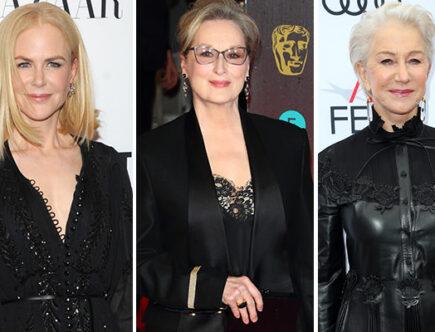 Nicole Kidman, Meryl Streep, Helen Mirren