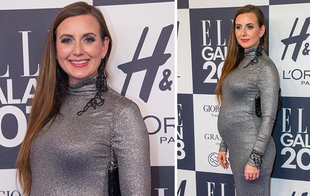 Sanna Lundell gravid