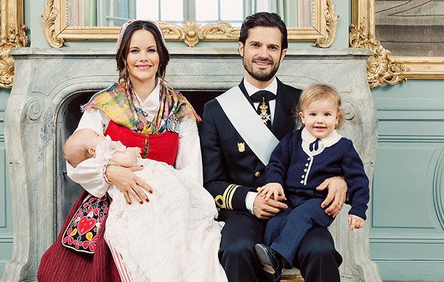 Prinsessan Sofia, prins Carl Philip, prins Gabriel och prins Alexander