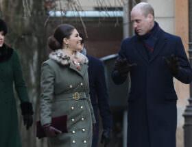 Kronprinsessan Victoria och prins William