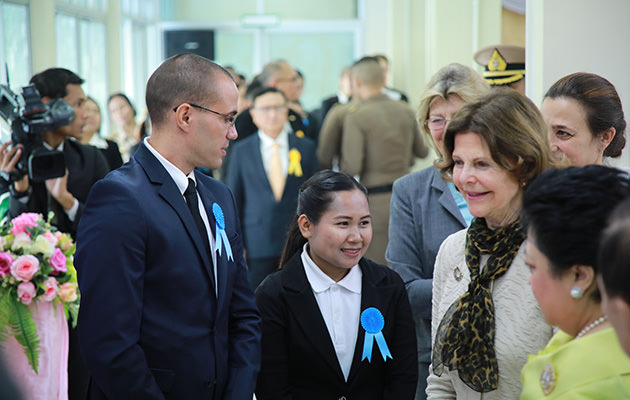 Drottning Silvia i Thailand
