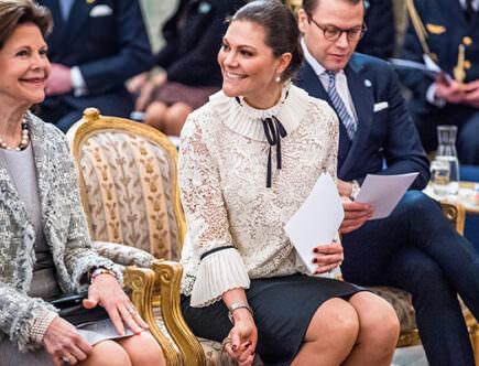 Bernadotte 200 år, kungen, drottning Silvia, kronprinsessan Victoria, prins Daniel, prinsessan Christina, Tord Magnuson