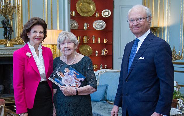 Kungen, drottning Silvia, Dagny Carlsson