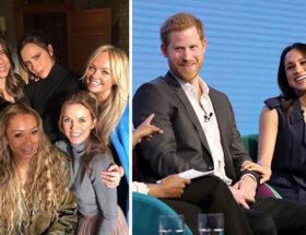 Spice Girls, Meghan Markle, prins Harry, bröllop