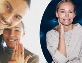 Carina Berg och Erik Johansson