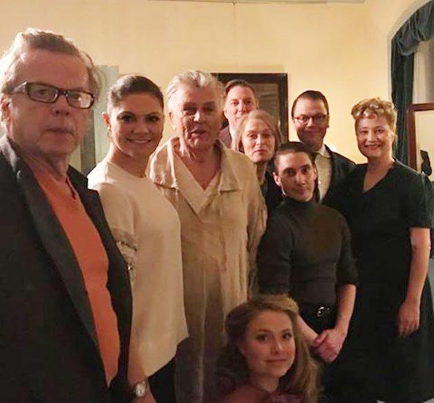 Kronprinsessan Victoria, Prins Daniel, Dramaten, Krister Henriksson