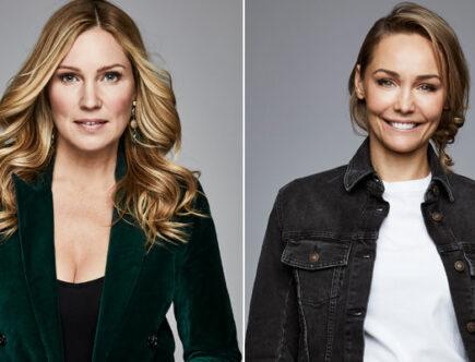 Jessica Almenäs och Carina Berg