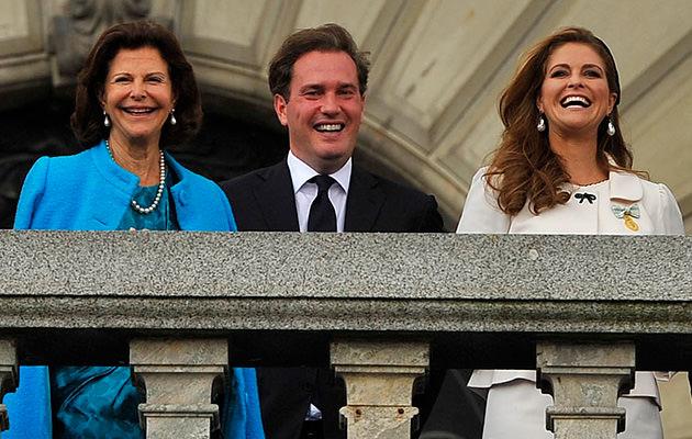 Prinsessan Madeleine, Chris O'Neill, drottning Silvia