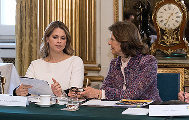 Prinsessan Madeleine och drottning Silvia