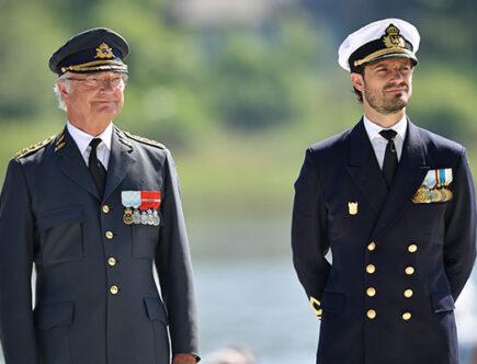 Kungen och prins Carl Philip på Vetarandagen