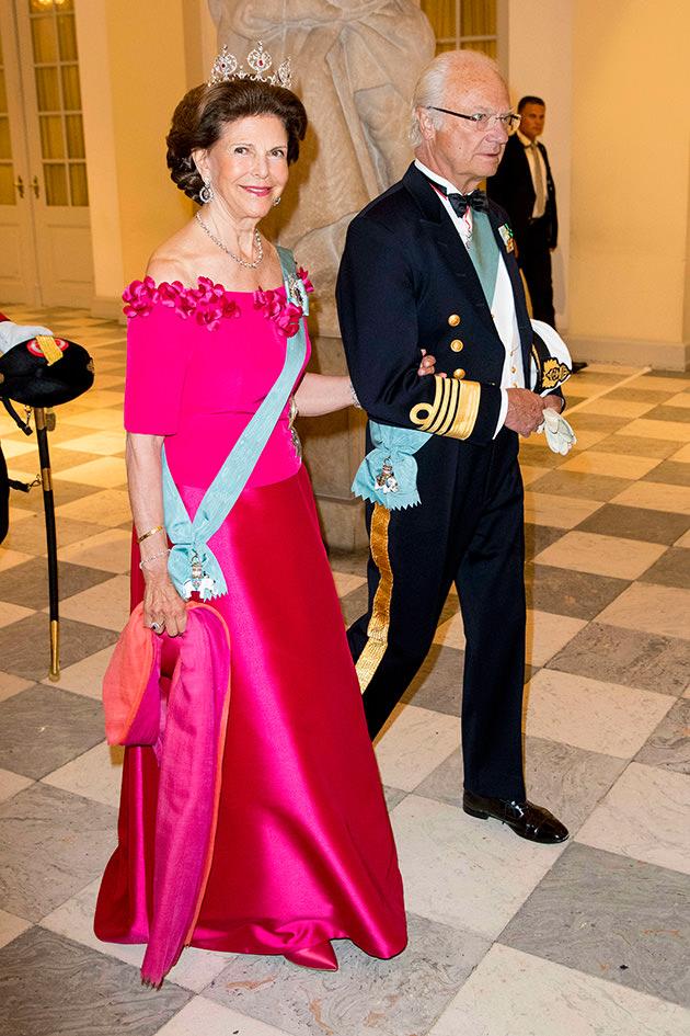 Drottning Silvia och kungen.