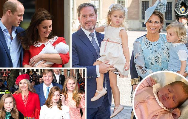 Kungliga trebarnsföräldrar