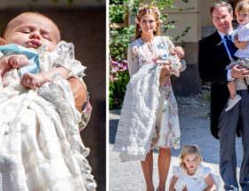 Prinsessan Madeleine och Chris O'Neill med barnen prinsessan Leonore, prins Nicolas och prinsessan Adrienne.