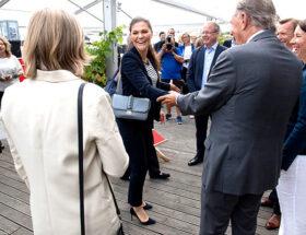 Kronprinsessan Victoria i Göteborg