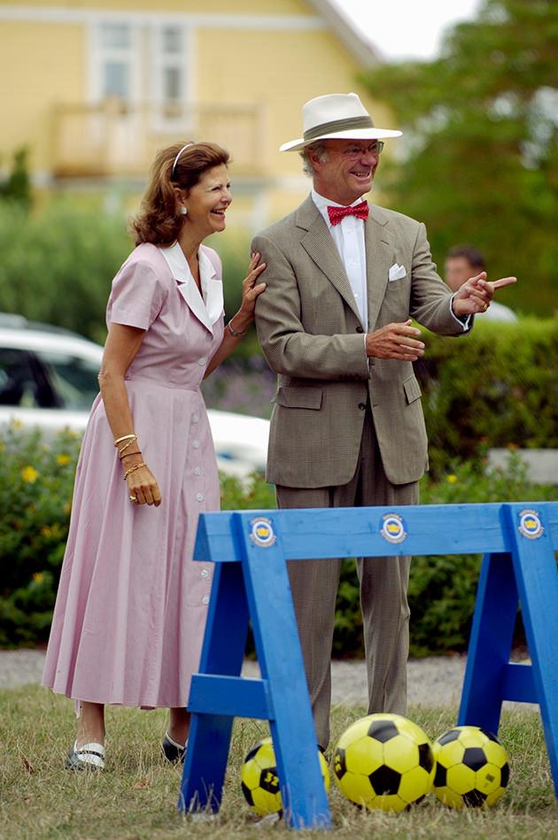 kungsrallyt, kungen och drottning Silvia, Solliden, Öland
