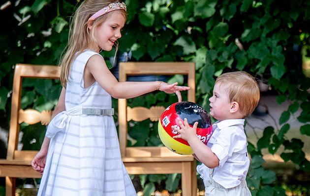 Prinsessan Estelle och prins Oscar, Victoriadagen Solliden