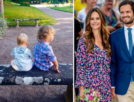 Prins Carl Philip, prinsessan Sofia, prins Alexander, prins Carl PHilip