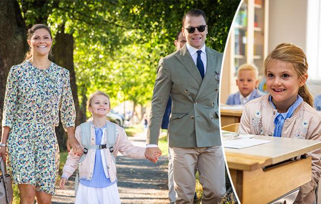 Prinsessan Estelle börjar skolan