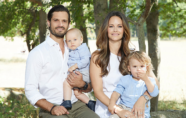 Prins Carl Philip, prinsessan Sofia, prins Alexander, prins Gabriel
