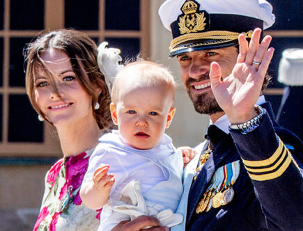 Prins Carl Philip, prinsessan Sofia, prins Gabriel