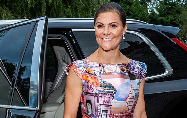 Kronprinsessan Victoria, Berns salonger