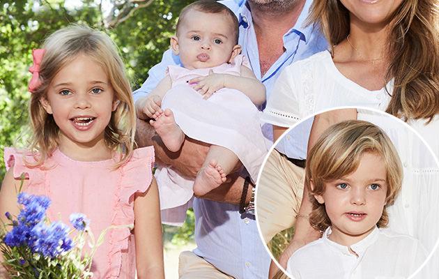 Prinsessan Leonore, prins Nicolas, prinsessan Adrienne