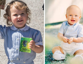 Prins Alexander och prins Gabriel