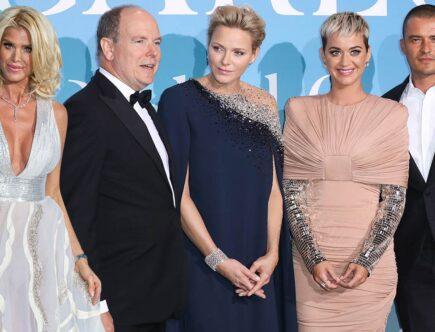 Gala, Monaco, Victoria Silvstedt, furst Albert, furstinnan Charlene, Katy Perry, Orlando Bloom