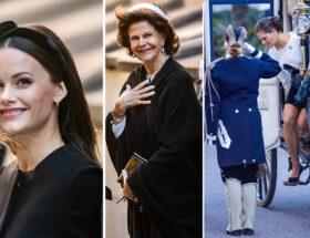 Riksdagens öppnande, kronprinsessan Victoria, kungen, drottning Silvia, prins Daniel, prins Carl Philip, prinsessan Sofia