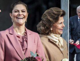 Kronprinsessan Victoria, kungen, drottning Silvia, prins Daniel, Nationalmuseum, invigning