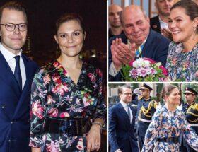 Kronprinsessan Victoria, prins Daniel, Jordanien