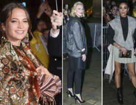 Modeveckan i Paris Alicia Vikander