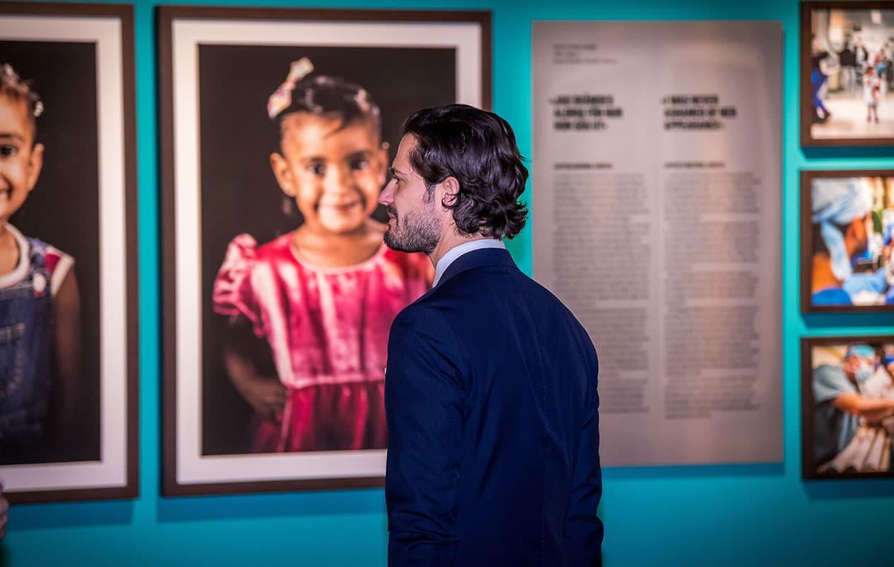 Prins Carl Philip, Fotografiska