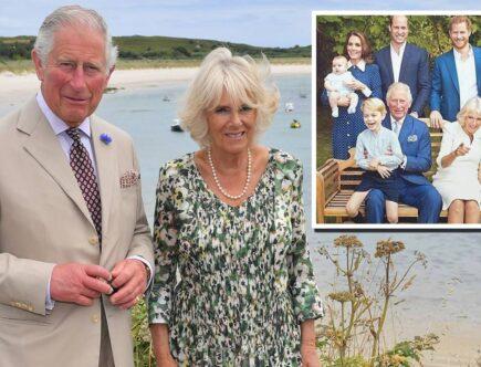 Prins Charles, Camilla Parker Bowles, Prins William, prins Harry, Hertiginnan Kate, hertiginnan Meghan