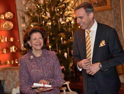 Drottning Silvia 75 år slottet