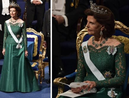 Drottning Silvia Nobel 2018